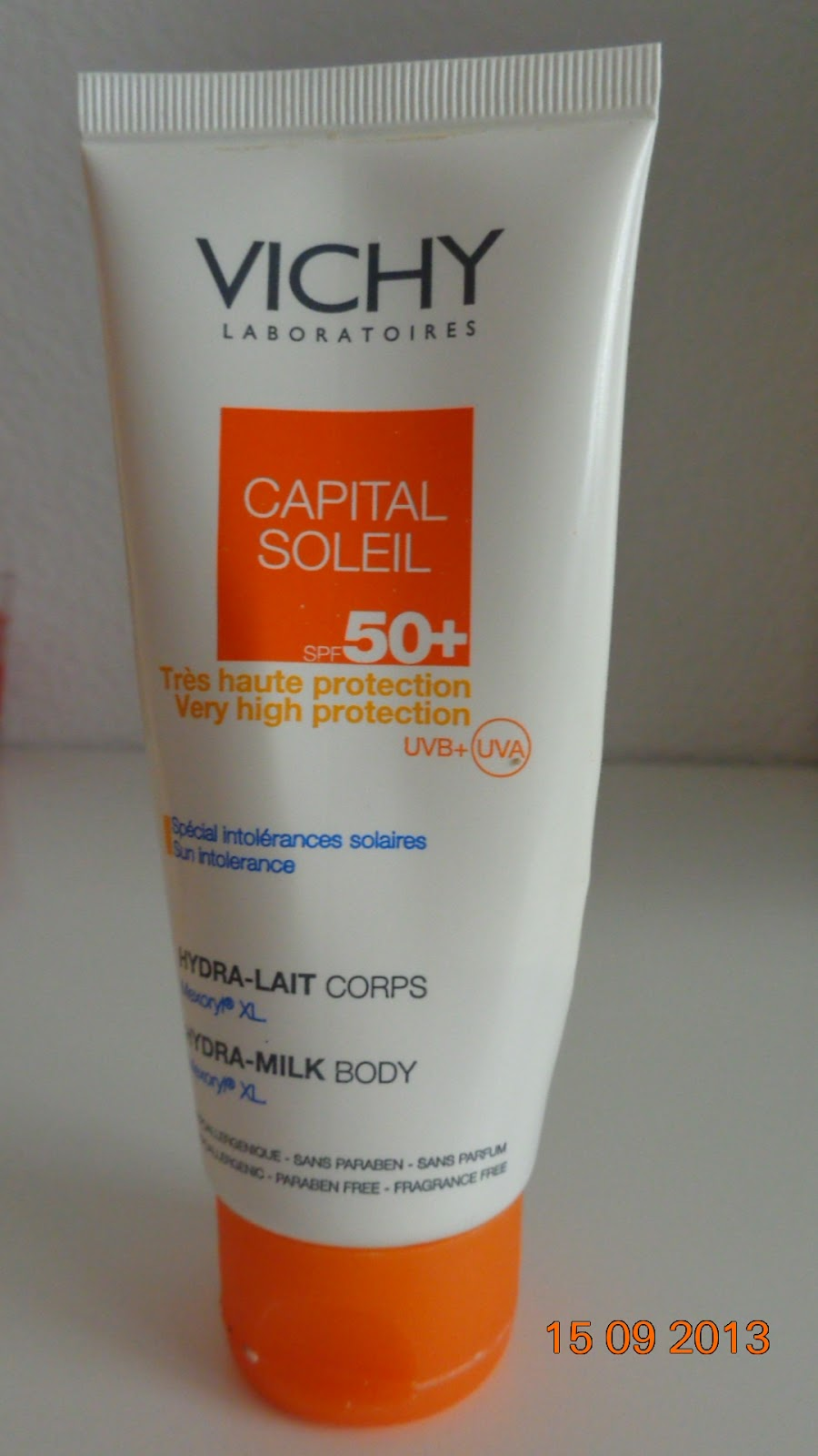 Vichy Capital Soleil SPF50+ hydra-milk body