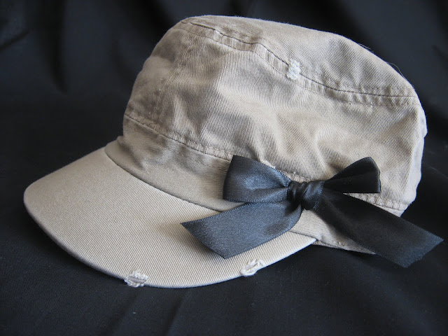 Black Bow  Women's Hat