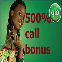 glo 500% call bonus