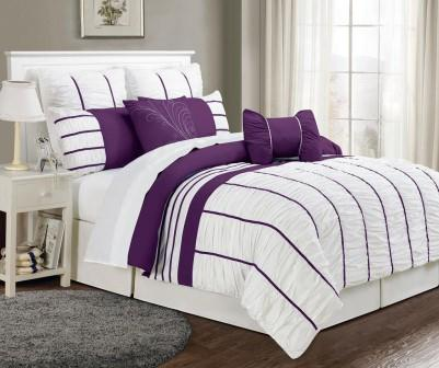 The Chic and Stylish Striped Comforter
