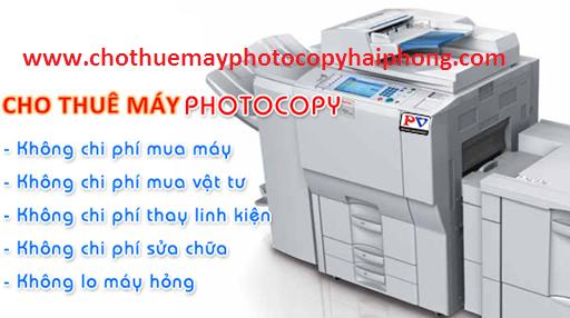 thue may photocopy o hai phong