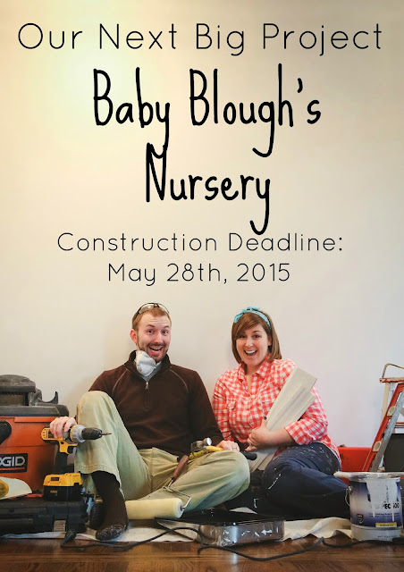 pregnancy announcement, construction