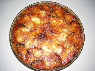 parmigiana di zucchine ... al microonde