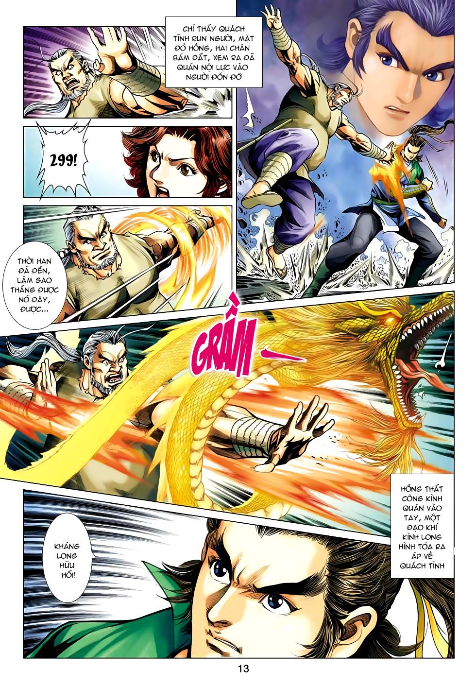 Xạ Điêu Anh Hùng Truyện chap 100 – End Trang 13 - Mangak.info