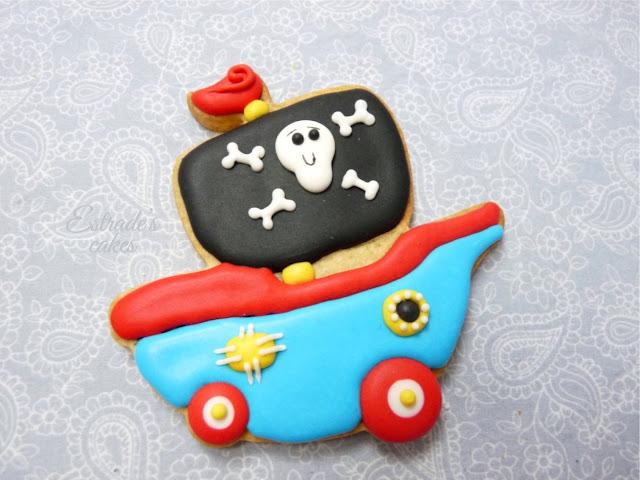 galletas con glasa diseño de Chapix cookies - 5