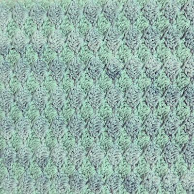 ByHaafner, crochet, scarf, Vinnis Nikkim