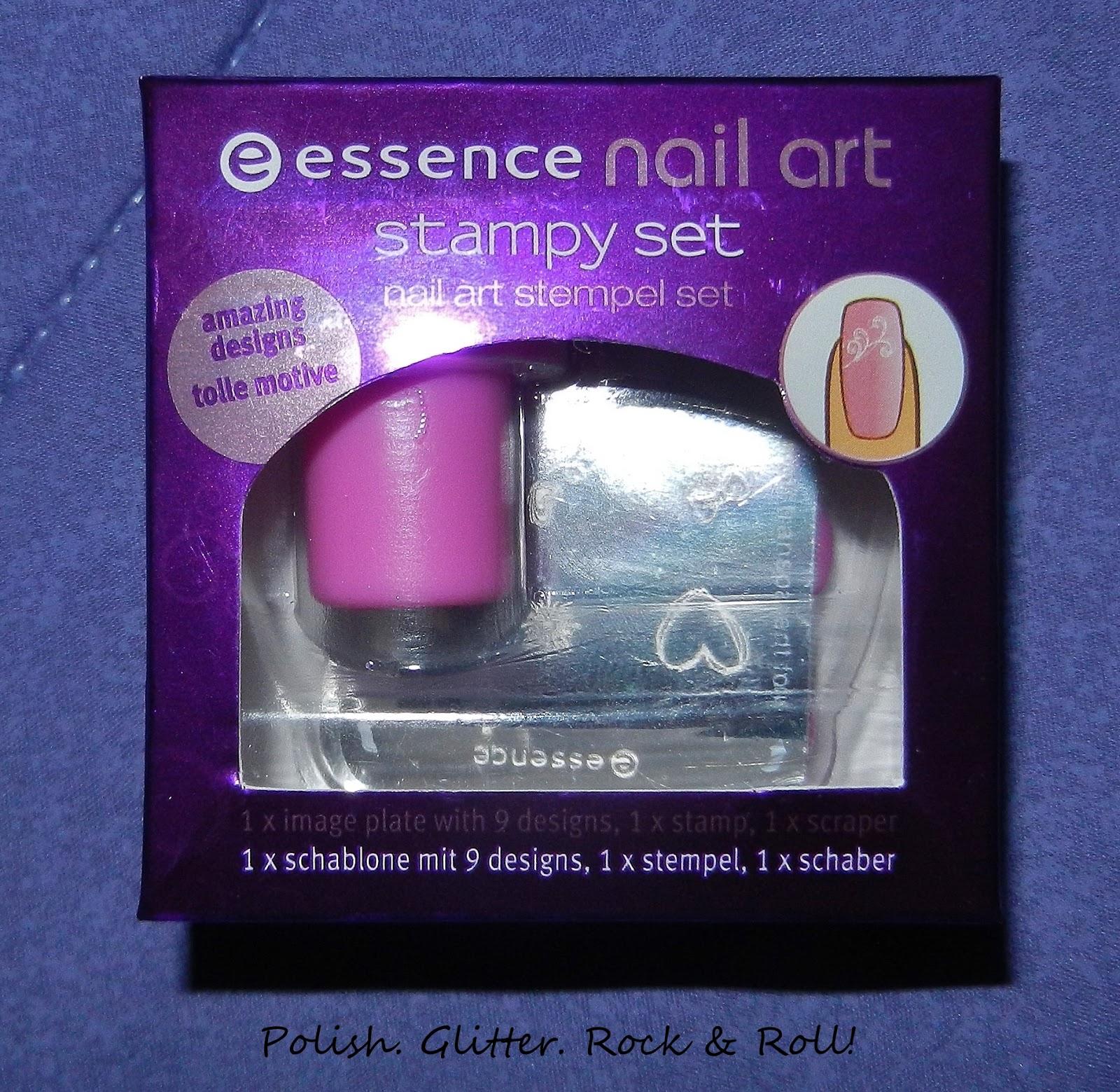 Polish Glitter Rock Roll Product Review Essence Nail Art
