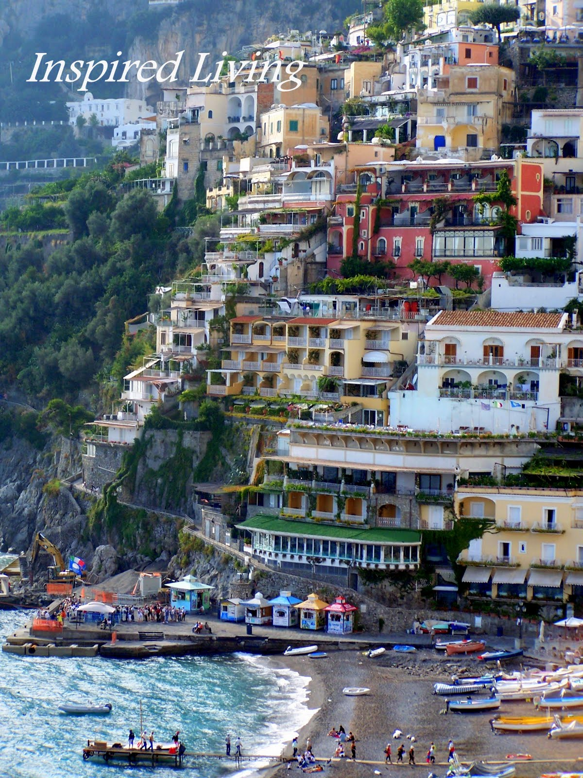 Inspired living breathtaking vistas and our stay in the for Amalfi to positano