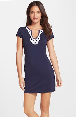 lilly pulitzer brewster solid dress on sale