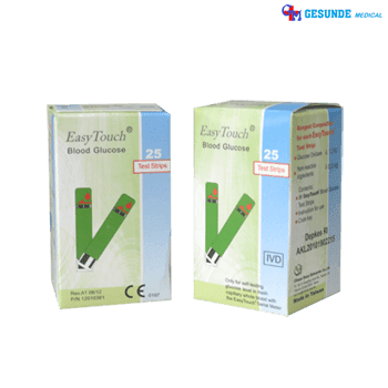 Easy Touch Blood Glucose Tes Strips