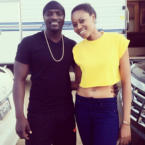 akon and yvonne nelson