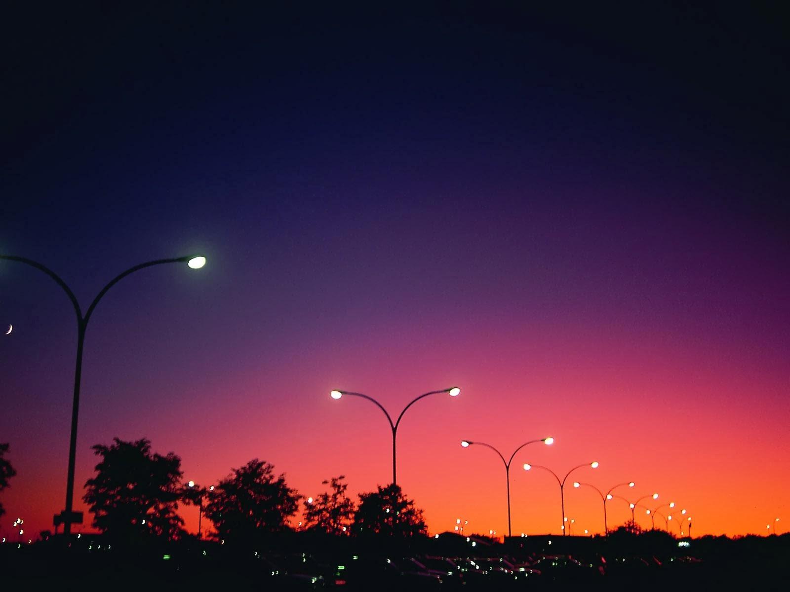 Fondos de pantalla y m s luces noche colores for Luces de colores