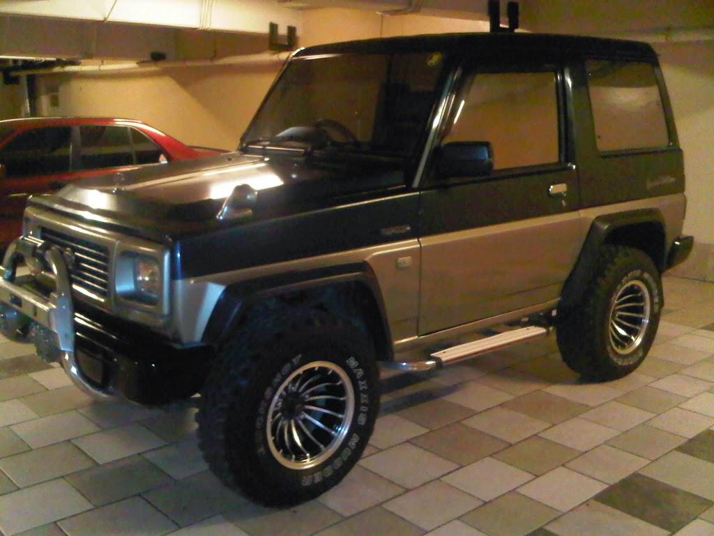 modifikasi mobil daihatsu feroza 1993