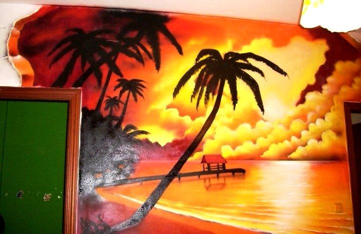Diako graffiti retratos sobre lienzo y pared pintura - Pintura con spray ...
