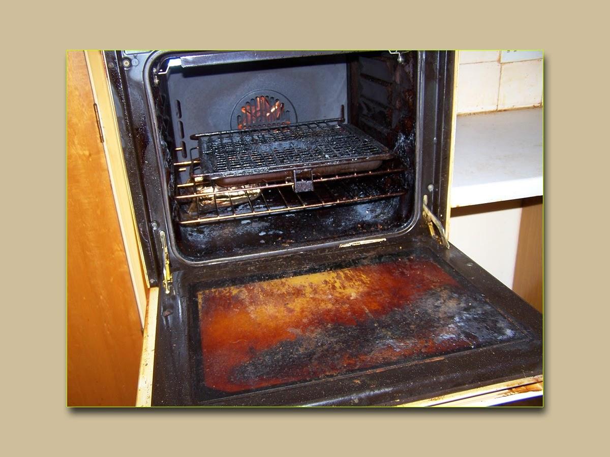 Очистить от жира газовую плиту в домашних условиях