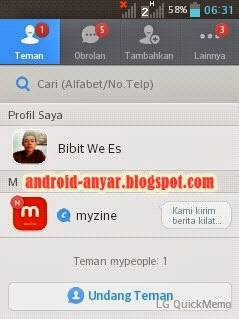 Cara Registrasi MyPeople Messenger Lengkap