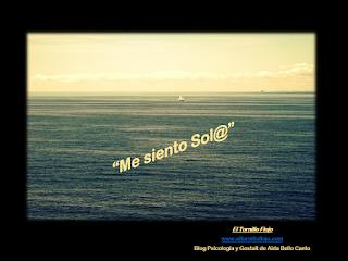 Soledad, emociones, gestalt, psicologia, Aida Bello Canto,