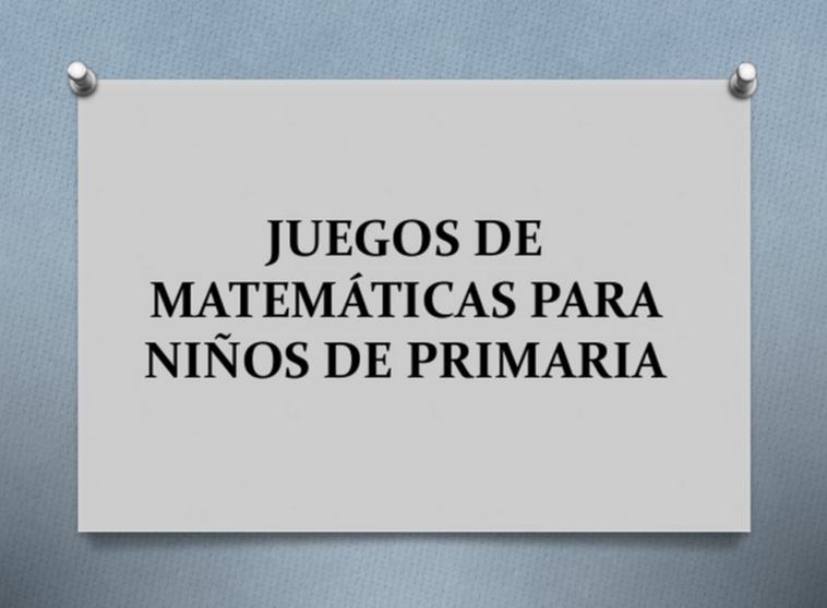 Repasa Matemáticas jugando