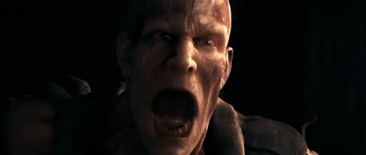 the zombie leader in i am legend 2007