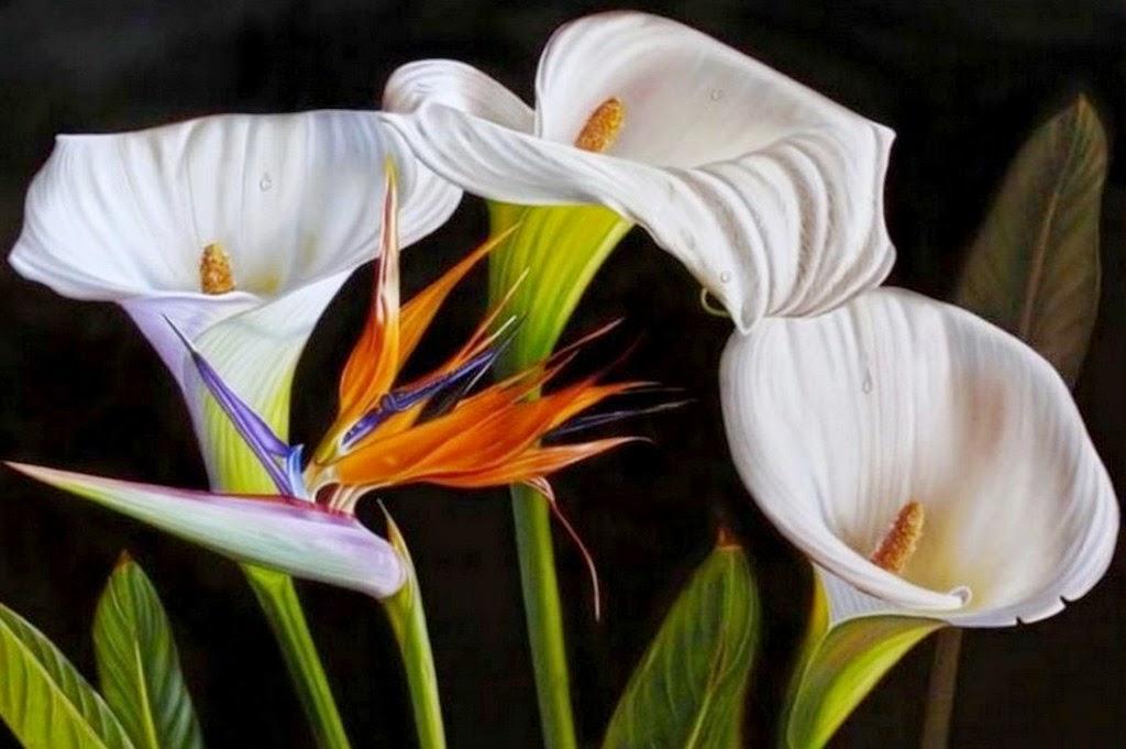 cuadros-de-bodegones-realistas-flores
