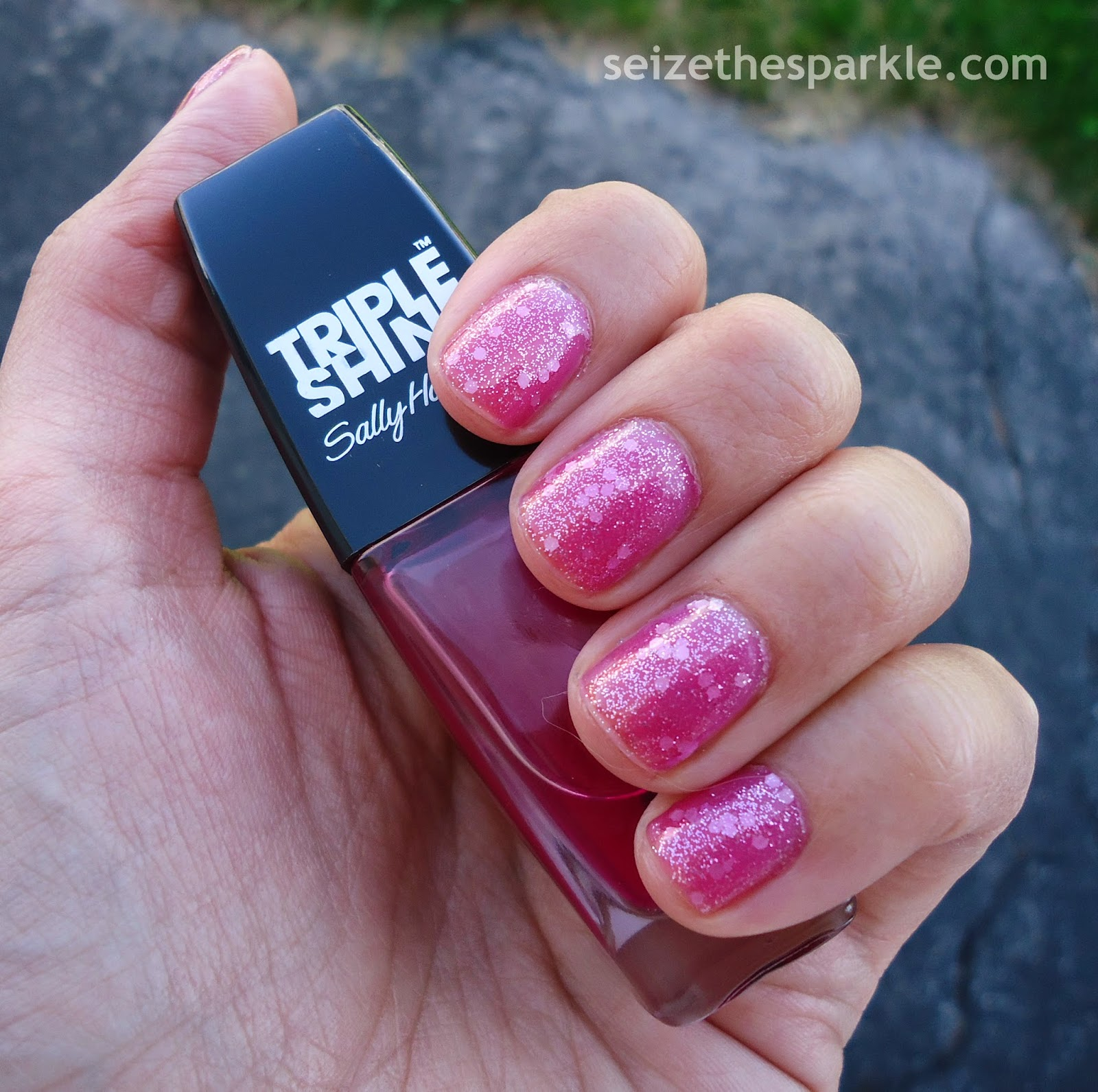 Layering with Sally Hansen Jell-ous
