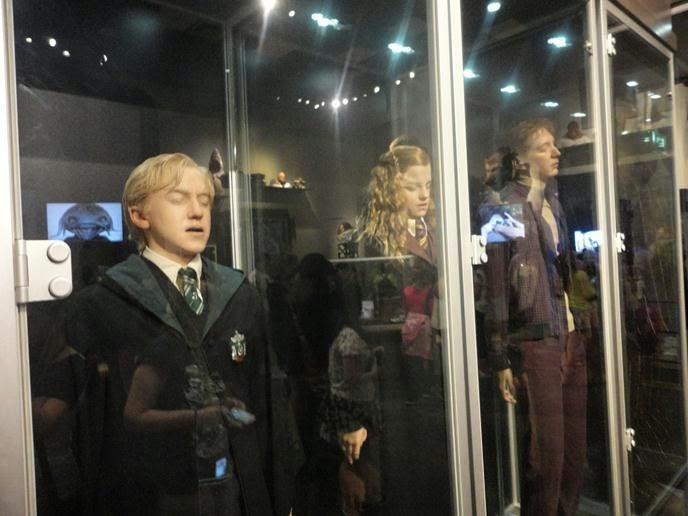 Personagens - Visitando os Estúdios de Harry Potter em Londres