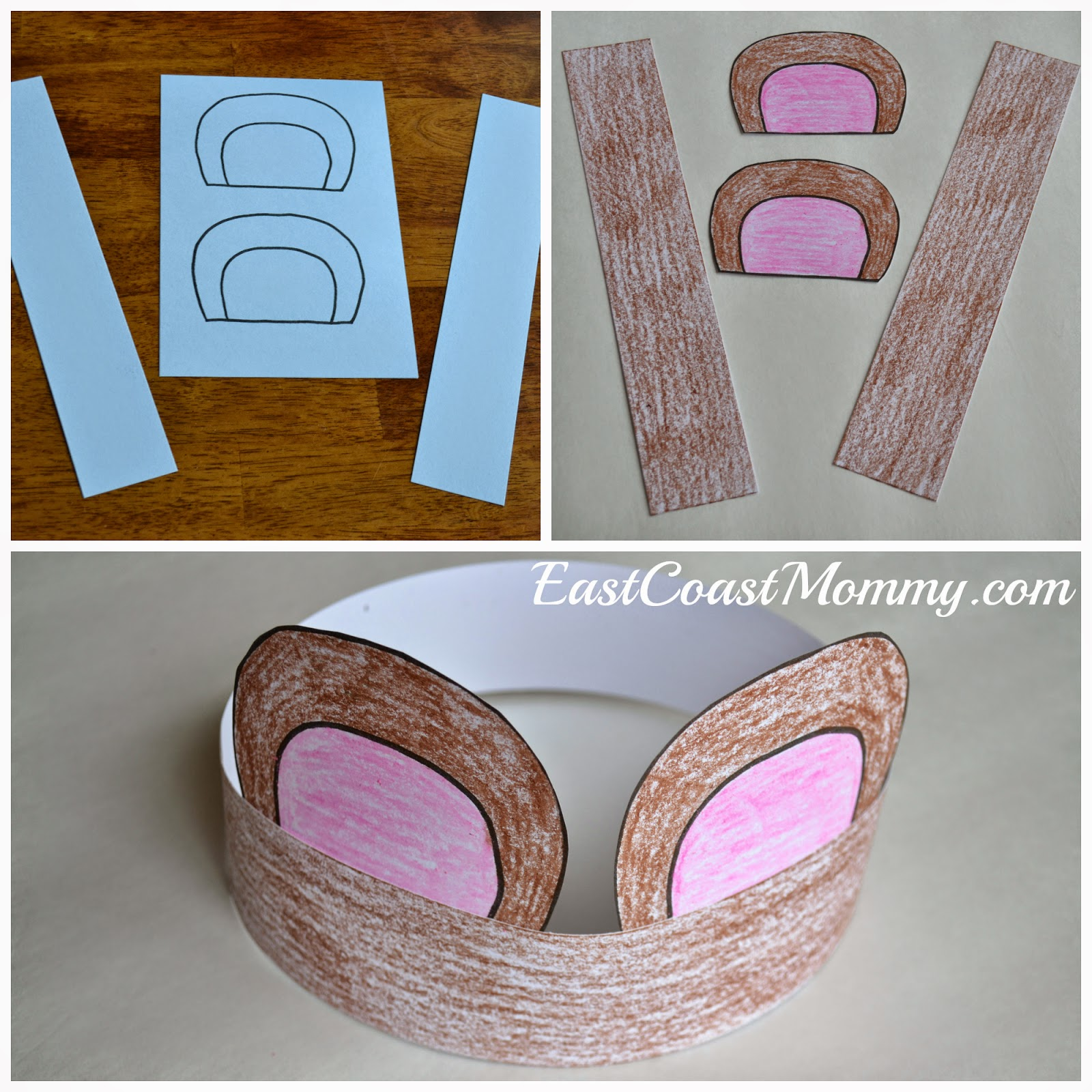 East Coast Mommy: Number Crafts {Number FIVE}... Teddy Bear Picnic