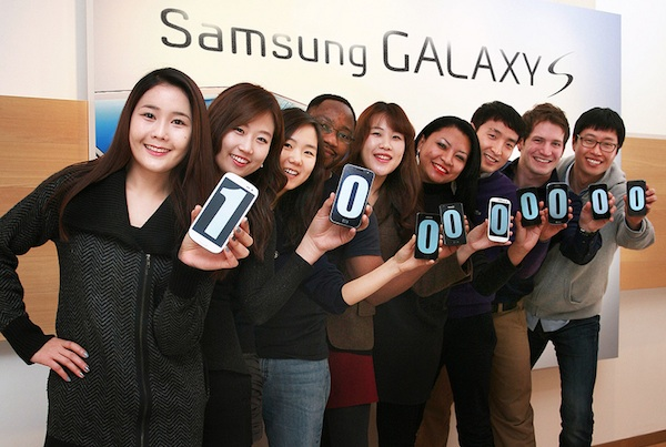 Samsung Galaxy Passes 100 Million Sales Mark