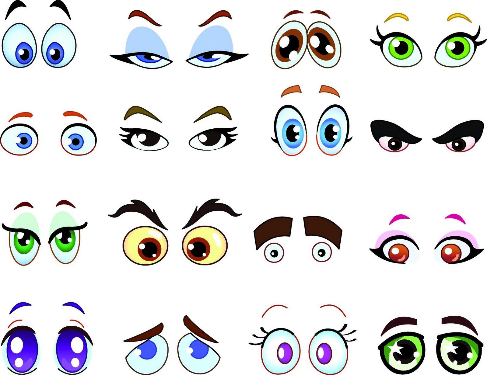 big cartoon eyes cute - photo #29