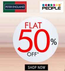 Get Flat 30% Off On Peter England & People  starting price Rs 180 onlyVia Trendin