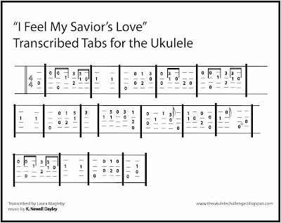 The Ukulele Challenge I Feel My Saviors Love
