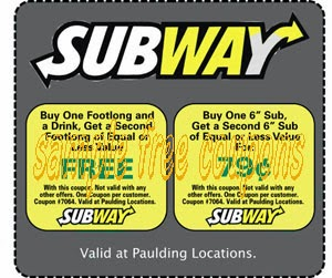 Subway coupons january 2019