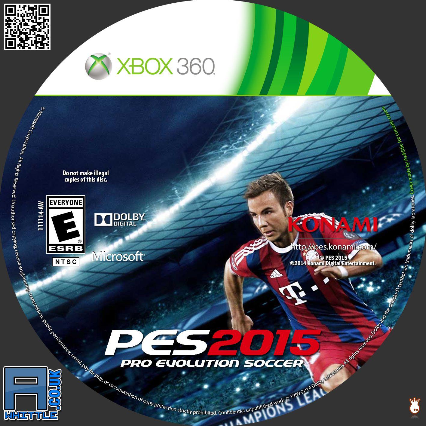 Label PES 2015 Xbox 360