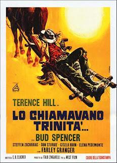 Italiensk poster for De kaller meg Trinity - Djevelens høyre hånd (1970)