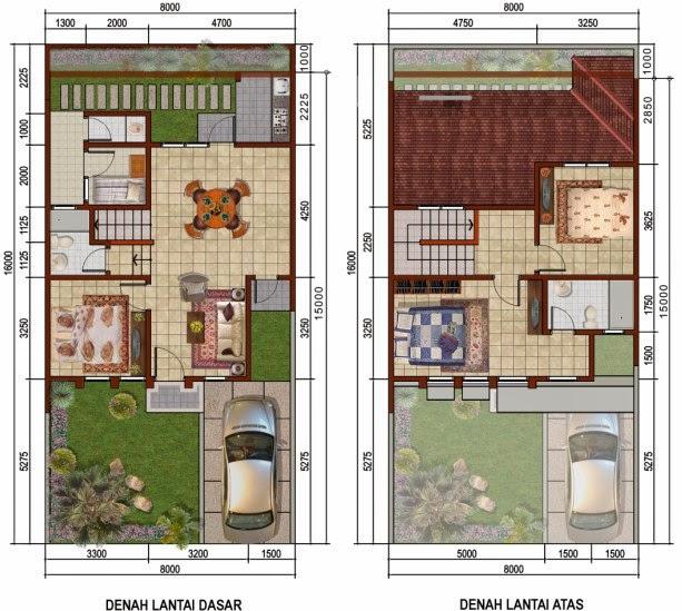 Inilah ide Desain Rumah Minimalis 3 Kamar Tidur 1 Lantai 2015 yg indah