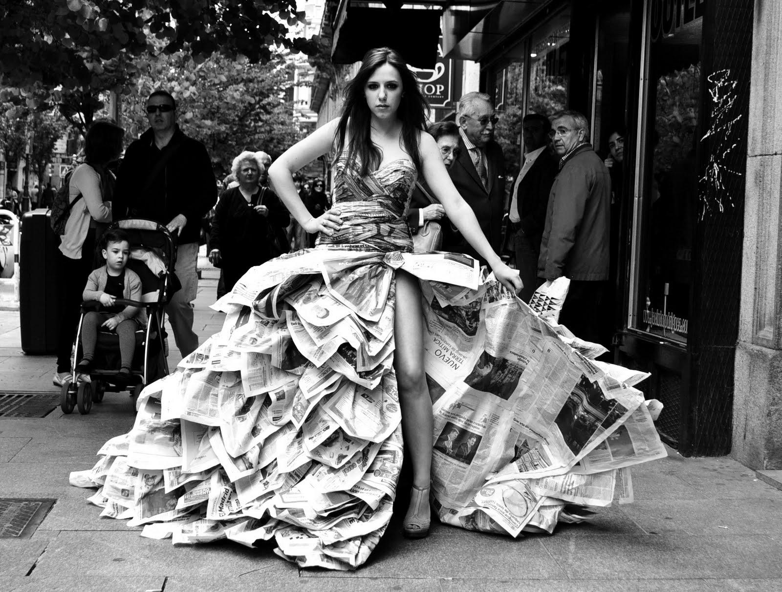 Vestidos De Papel Para Hacer