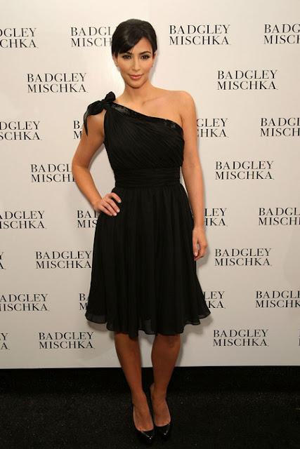 Kim Kardashian in Black Dresses