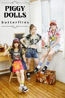 Piggy Dolls (피기돌스) - Butterflies