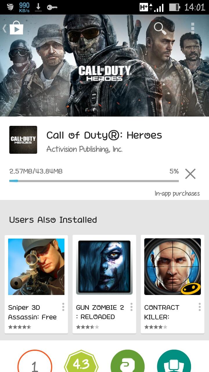 Call Of Duty : HEROES  v1.2.0