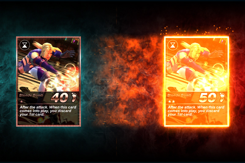 Tekken Card iPhone Screenshot