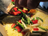 Asparagus Polenta Bake - Healthy Family Recipe Step 2