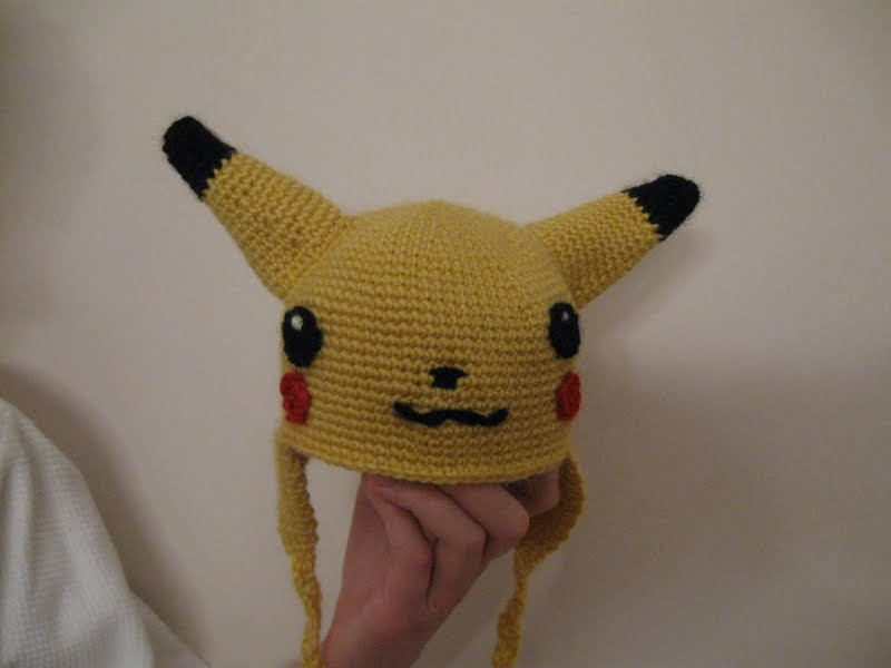 Knitted Pikachu Pattern : You *can* knit with a lightsaber!: Nerd Wars 2 Dissertation Finished, Gallery...