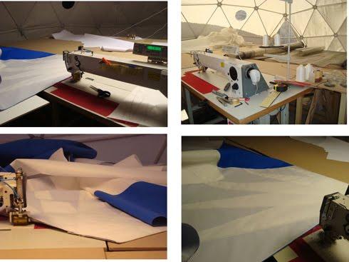 sail making sewing machine