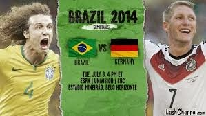 Brazil vs Germany (semi-final) Watch Online - FIFA World Cup 2014