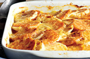 The Delicious Life of G- Free J: Sweet Potato and Turnip Gratin