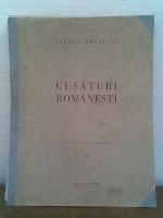 Cusături+româneşti+cărţi+meşteşuguri