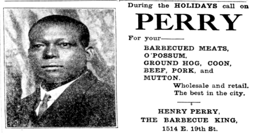 "Результат пошуку зображень за запитом ""henry perry barbecue kansas city"""