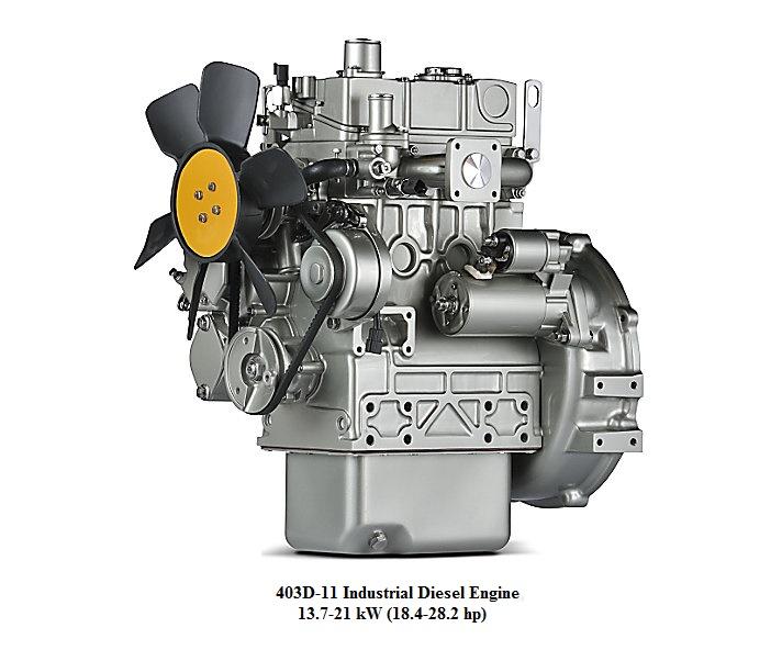 1104C 44TA Industrial Diesel Engine Perkins Engines
