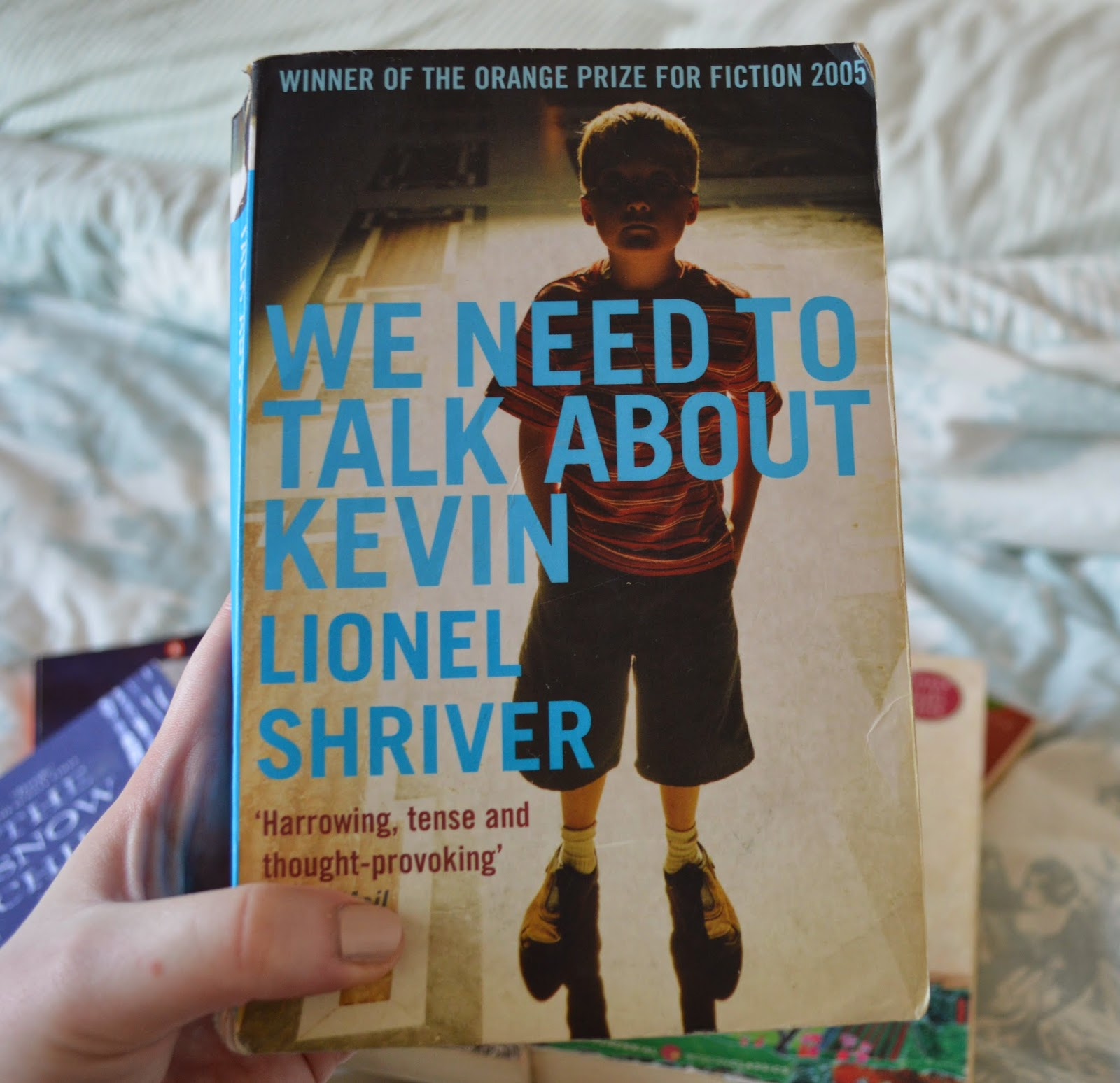 photo, photography, list, mother's day, recommendations, paperback, family centred, literature, suggestions, Lionel Shriver, We Need to Talk About Kevin