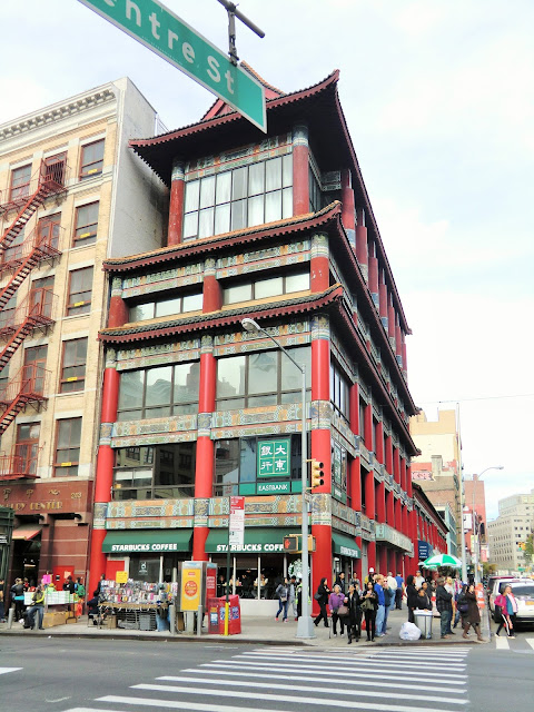 Starbucks Chinatown manhattan new-york